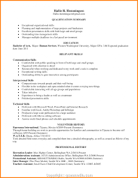 Time Management Skills Resume Example