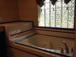 ceramic tub paint tape off areas you want the tub and tile paint on enamel spray paint tub ceramic tub refinishing kit