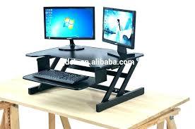 computer workstation desk table top stand up laptop desks adjule height best tabletop