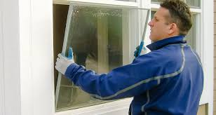 average cost of replacing blown windows