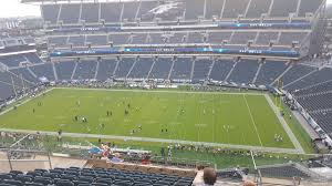 seat view for lincoln financial field section 227