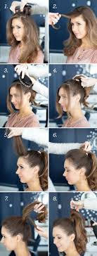How To Make A Hair Style pretty simple effortless high pony high ponytails ponytail 7847 by wearticles.com