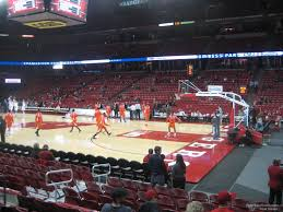 University Of Wisconsin Kohl Center Seating Chart Kohl Center Section 106 Rateyourseats Com