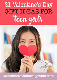 Gift girl teen valentine