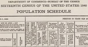Race Codes Chart 1940 Census General Information National Archives