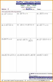 Pre Algebra Free Worksheets Worksheets for all | Download and ...