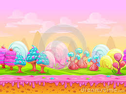 candy wonderland background. Wonderful Candy Cartoon Fantasy Candy Land Location Stock Vector  Image  In Wonderland Background