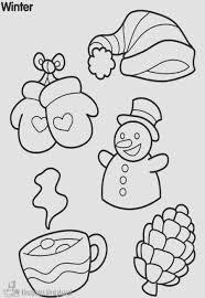 Kleurplaten Thema Winter