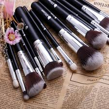 <b>DUcare Makeup Brushes 15 Pcs</b> Natural Synthetic Professional ...