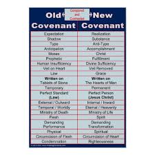 Old New Covenant Bible Study Classroom Chart