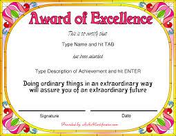 Award Certificate Samples Sample Feedback Questions Sample User