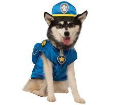 Ups Dog Costume Size Chart Paw Patrol Chase Dog Costume