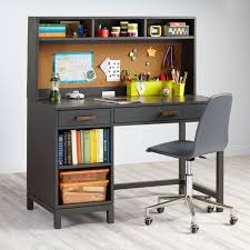 kids desk furniture. Kids Cargo Dark Grey Desk And Hutch Furniture