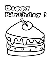 Happy Birthday Kleurplaat Kleuren Is Leuk