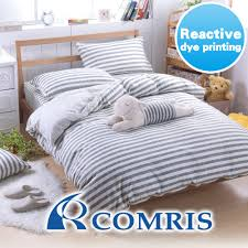 high quality fiber reactive dye simple style bedding set