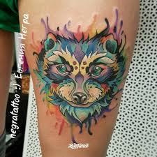 енот значение татуировок в нижнем новгороде Rustattooru