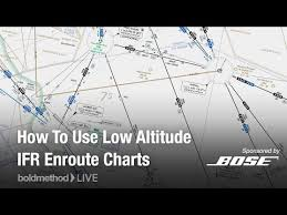 How To Use Low Altitude Ifr Enroute Charts Boldmethod Live