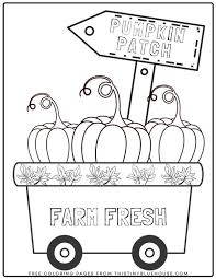 Here is a small collection of autumn coloring fall coloring pages printables for your kid, including some detailed. 6 Free Printable Fall Coloring Pages For Kids This Tiny Blue House