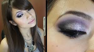 new years eve holiday makeup tutorial day to night party silver look