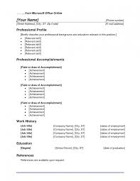 Word 2003 Resume Templates 21 Microsoft Office Ms 2010 15 Example