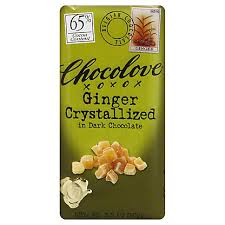 Chocolove <b>Ginger Crystallized in Dark</b> Chocolate, 3.2 oz – Central ...