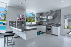 kitchen cool ceiling lighting. Modern Kitchen Using White And Gray Color Combination With Lights For  Ceiling Kitchen Cool Ceiling Lighting