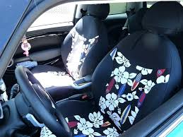 blue car seat covers mini cooper color surf print seat covers with black sides blue and blue car seat covers