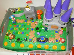 If you want to download the image above, right click on the image and then save image as. My Son S Super Idea For A Super Mario Bros Birthday Cake
