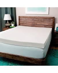 black foam mattress topper. Brilliant Topper Comfort Dreams Ultra Soft 4inch Memory Foam Mattress Topper Full Black In M