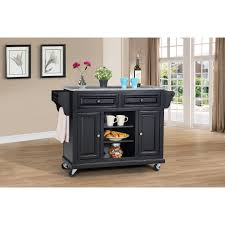 Granite Topped Kitchen Island Wildon Home Ar Kitchen Island With Granite Top Reviews Wayfair