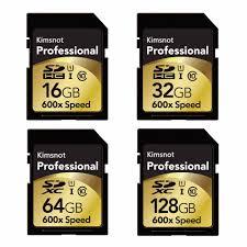 Kimsnot Chuyên Nghiệp 90 MB/giây 64GB 128GB 256GB SDXC Thẻ SD 16GB SDHC 32GB  Thẻ Nhớ thẻ Tốc Độ Cao 600x Cho Nikon Máy Ảnh Canon - ww33.nuf2015.online