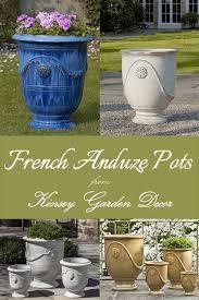extra tall french ceramic anduze urn