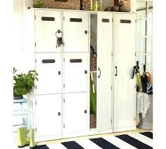 pottery barn locker furniture. Pottery Barn Lockers Mud Room Modular Family Locker Cube Set Furniture