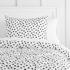 preppy college dorm dots bedding