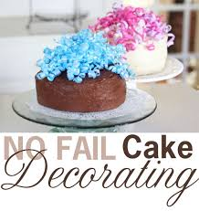12 Cake Decorating Idea With 2 Cakes Photo Easy Cake Decorating