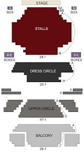 Lyric Theatre London Seating Chart Stage London