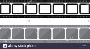 Filmstrip Vector Template Illustration Design Stock Vector