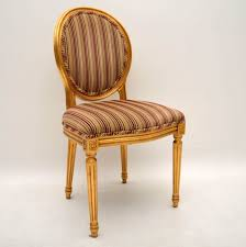 antique wooden dining chairs. Delighful Wooden Set Of Ten Antique French Style Gilt Wood Dining Chairs To Wooden