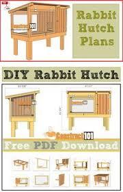 rabbit house plans. Rabbit Hutch Plans - PDF Download House