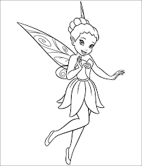 Tinker bell is a very cute little working angel from the peter pan story. 30 Tinkerbell Coloring Pages Free Coloring Pages Free Premium Templates