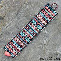 Bead Weaving Patterns Cool 48 Best Peyote Et Grilles Images On Pinterest Bead Jewellery