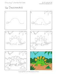 how to draw pdf tutorial available for free apfk 14 1159x1500 easy drawing tutorials for kids printable drawing lessons