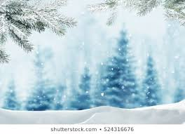 winter nature christmas backgrounds. Fine Nature Merry Christmas And Happy New Year Greeting Background With Copyspace Winter Landscape In Nature Christmas Backgrounds