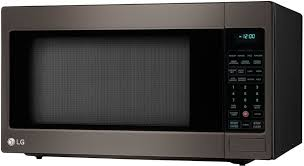 countertop microwave oven with 1 200 cooking watts lg lcrt2010bd 2 0 cu ft countertop microwave oven with 1 200 cooking watts left
