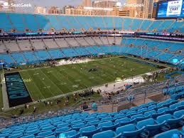 Bank Of America Stadium Section 540 Seat Views Seatgeek