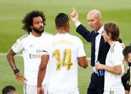 Zinedine Zidane mti Wutrede nach Sieg von Real Madrid