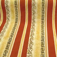 Designer Curtain Fabric Warehouse Tangier Terracotta Retro Cotton Designer Curtain Fabric Roll