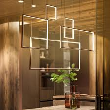 Pendant lighting living room Industrial Square Modern Led Chandelier Acrylic Lights Lamp For Dinning Room Living Room Hanging Pendant Chandelier Fixture Free Shipping Inspiratdesign Square Modern Led Chandelier Acrylic Lights Lamp For Dinning Room