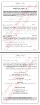Sample Canadian Resume Format Teaching Assistant Resume Example Teacher Sample 17