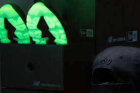 new balance x new era 574. the new era x balance mt580 features glow-in-the-dark details 574 m